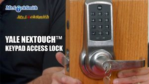 Yale NexTouch Keypad Access Lock | Mr. Locksmith Blog