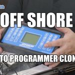 Off Shore Auto Key Programmer Clones | Mr. Locksmith Whistler