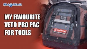 My Favourite Veto Pro Pac for Tools | Mr. Locksmith
